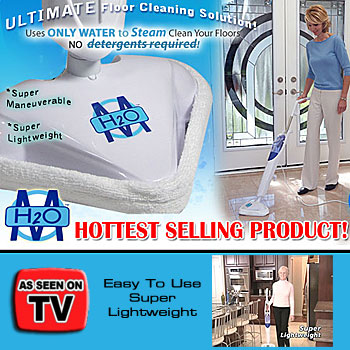 H2O Mop Steam Floor Cleaner As Seen On TV As Seen on Tv Products