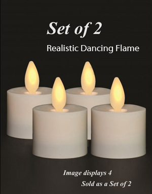 Dancing Tea Candles S2 With Realistic Moving Flame