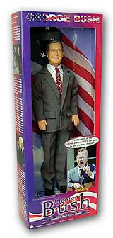 George H W Bush Talking Doll Clearance Closeout Buy
